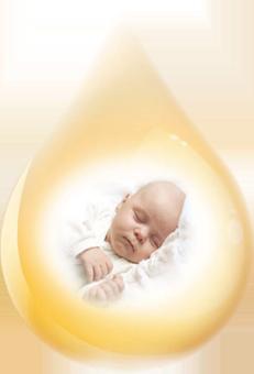 Szimetikon tartalmú csepp és baba